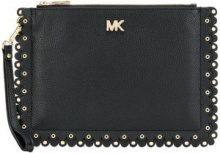 - Michael Michael Kors - scalloped pouch medium - women - pelle - Taglia Unica - di colore nero
