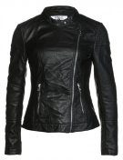 ONLLOUNGE - Giacca in fintapelle - black