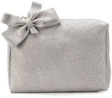 - L'Autre Chose - Borsa Clutch - women - pelle scamosciata di vitello - Taglia Unica - di colore grigio