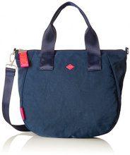 Oilily Groovy Handbag Mhz - Borse a secchiello Donna, Blau (Dark Blue), 15x25x40 cm (B x H T)