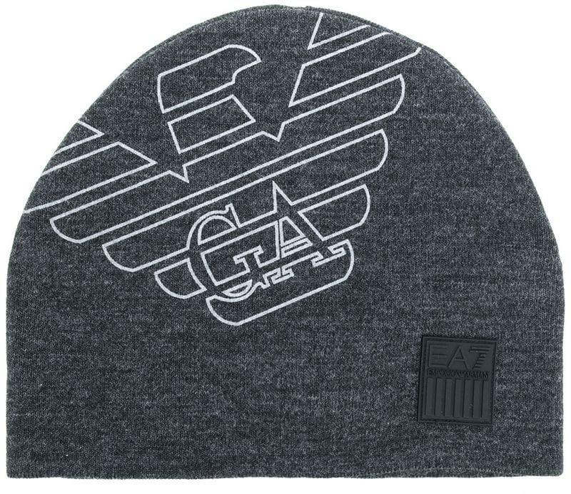Ea7 Emporio Armani - Berretto di maglia con logo - men - acrilico ... 0810abf967f6