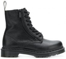 - Dr. Martens - 1460 Pascal w/Zip boots - women - Rubber/Leather - 37, 41, 36 - Nero