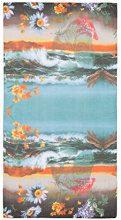 Desigual Foul_paisaje, Sciarpa Donna, (Azul Agua 5029), Unica (Taglia Produttore: U)