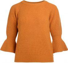 Maglione Michael Kors in lana giallo ocra