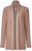 Street One Cosy Shawl Collar, Cardigan Donna, Rosa (Studio Rose Knit 10983), 48 (Taglia produttore: 42)