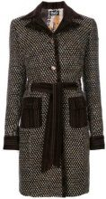 - Dolce & Gabbana Vintage - Cappotto con cintura - women - Acrylic/Polyester/Wool/other fibers - 42 - Marrone