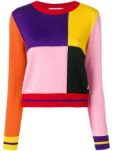 - MSGM - Maglia color - block - women - acrilico/lana - XS, S - multicolore