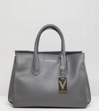 Maxi borsa strutturata grigia