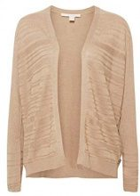 ESPRIT 088ee1i026 Cardigan Donna, Marrone (Taupe 5 244) XX-Large