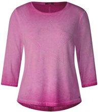 Cecil 312089, T-Shirt Donna, Rosa (Magic Pink 31277), XS