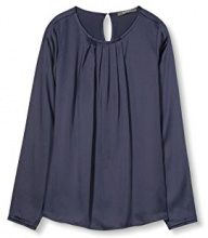 ESPRIT Collection 017eo1f002, Camicia Donna, Blu (Navy), 34
