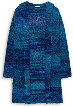 edc by Esprit 107cc1i051, Cardigan Donna, Blu (Petrol Blue 450), Small