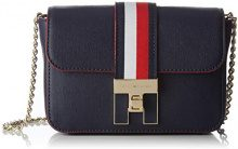 Tommy Hilfiger Th Heritage Mini Xover - Borse a tracolla Donna, Blu (Tommy Navy), 17x6.5x12.5 cm (B x H T)