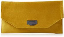 New Look Erika - Pochette da giorno Donna, Giallo (Dark Yellow), 4x17x22 cm (W x H L)