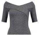 ONLSOFFI  - T-shirt con stampa - dark grey melange