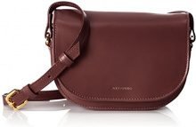 Royal RepubliQ Raf Curve Evening Bag, Donna Borse a spalla, Rosso (Bordeaux) 7x12.5x18 cm (B x H x T)