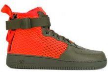 - Nike - Sneakers 'SF Air Force 1 Mid QS' - men - Rubber/Polyester/Leather - 11, 13, 11.5 - unavailable