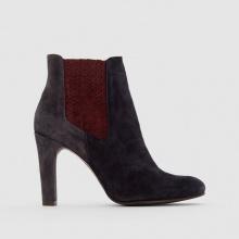 Boots pelle tacco alto