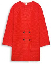 ESPRIT 087ee1i031, Cardigan Donna, Arancione (Red Orange 825), X-Large