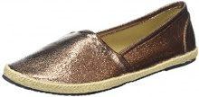 Buffalo Shoes 327423 Lh-129 - Espadrillas Donna, Marrone (Bronze), 41 EU