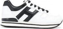 - Hogan - panelled sneakers - women - pelle/gomma - 38,5, 36, 39, 36,5, 39,5, 37, 40, 37,5, 38, 41 - di colore nero