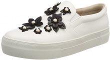 Buffalo 17t01-10 Nappa Pu, Sneaker Infilare Donna, Bianco (White), 39 EU