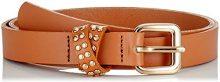 PIECES Pctilda Leather Jeans Belt, Cintura Donna, Marrone Cognac, 90