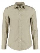 SLIM FIT - Camicia elegante - khaki