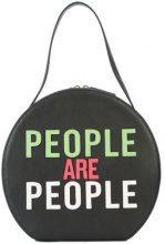 - Christian Siriano - People Are People shoulder bag - women - fibra sintetica - Taglia Unica - di colore nero