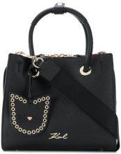- Karl Lagerfeld - Karry All Mini Shopper tote - women - pelle di vitello - Taglia Unica - di colore nero