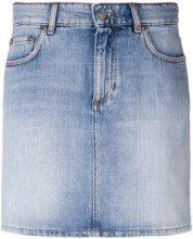 - Ganni - Gonna corta - women - fibra sintetica/cotone - 34, 38 - di colore blu