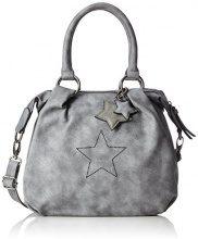 s.Oliver (Bags) 39.711.94.6047 - Borse a tracolla Donna, Grau (Street Grey), 9x29x31 cm (B x H T)