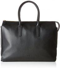 Bree Kimo 4, Black, Workbag M - Borsa Donna, Schwarz (Black), 12x31x36 cm (B x H T)