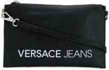 - Versace Jeans - slim clutch - women - fibra sintetica - Taglia Unica - di colore nero
