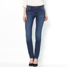 Jeans slim stretch, vita normale, lunghezza 32 cm