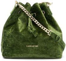 - Lancaster - small bucket bag - women - Velvet - Taglia Unica - Verde
