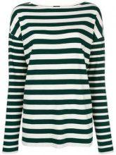 - Joseph - multi - stripe longsleeved T - shirt - women - Cotone - S, M - Verde