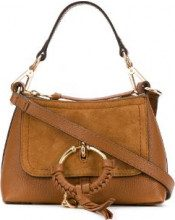 - See By Chloé - Tote Joan - women - pelle/cotone - Taglia Unica - color marrone