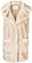 - Dondup - faux fur gilet - women - fibra sintetica/acrilico - 38, 40, 42, 44 - color carne