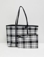 Shopper double-face a quadri