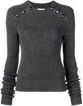 - Isabel Marant Étoile - Koyle ribbed knit sweater - women - cotone/lana - 38, 40, 34, 36 - di colore grigio