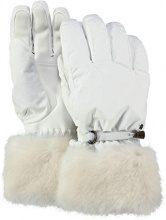 Barts Empire Skigloves, Guanti Unisex-Adulto, (Bianco 10), 3 (Taglia Produttore:3)