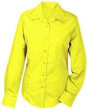 James & Nicholson Ladies' Promotion, Camicia Donna, Giallo (Yellow), 34 (Taglia Produttore: S)