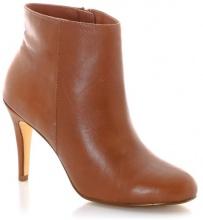 Boots pelle (vacchetta), chiusura con cerniera