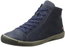 Softinos Isleen Washed, Sneaker a Collo Alto Donna, Blu (navy), 39 EU