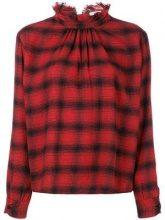 - Officine Generale - Camicia Sofia - women - cotone - M - di colore rosso
