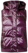 Cecil Vest, Gilet per Attività Outdoor Donna, Violett (Dark Berry Metallic 10975), XX-Large