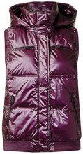 Cecil Vest, Gilet per Attività Outdoor Donna, Violett (Dark Berry Metallic 10975), Medium