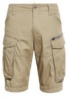 ROVIC ZIP 1/2 - Shorts - dune
