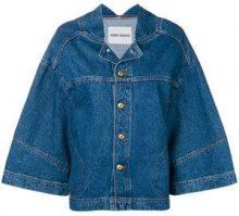 - Henrik Vibskov - wide sleeved denim jacket - women - cotone - S, L - di colore blu